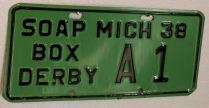 green soap box license
